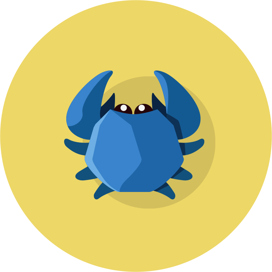 MightyCrabs Blue