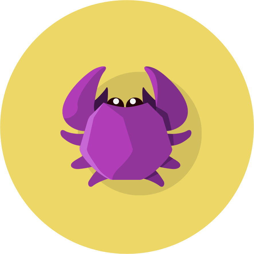 MightyCrabs Purple